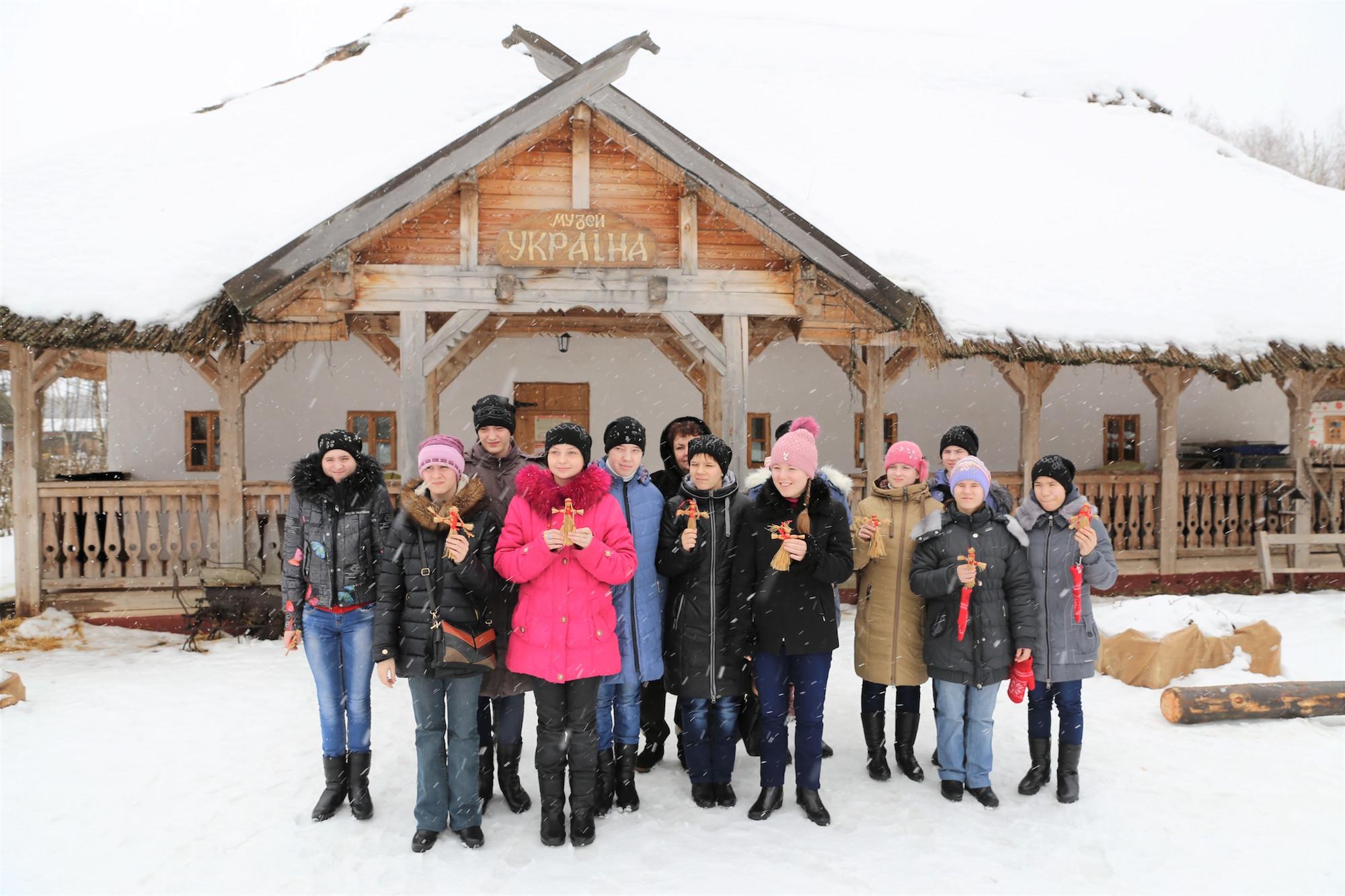 Поездка воспитанников Коломенского детского дома-интерната в этнографический парк-музей «Этномир»